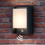 With sensor – LED outdoor wall light Arbour