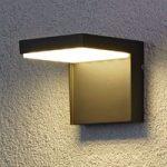 Modern Rachel LED outdoor wall light aluminium